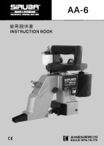 click here for the SIRUBA AA-6 Instruction Book